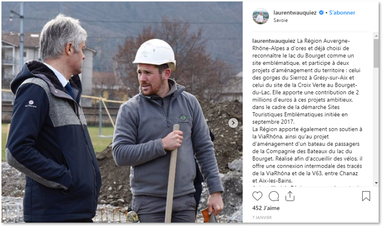Laurent Wauquiez Instagram