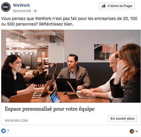 Generation de trafic Facebook
