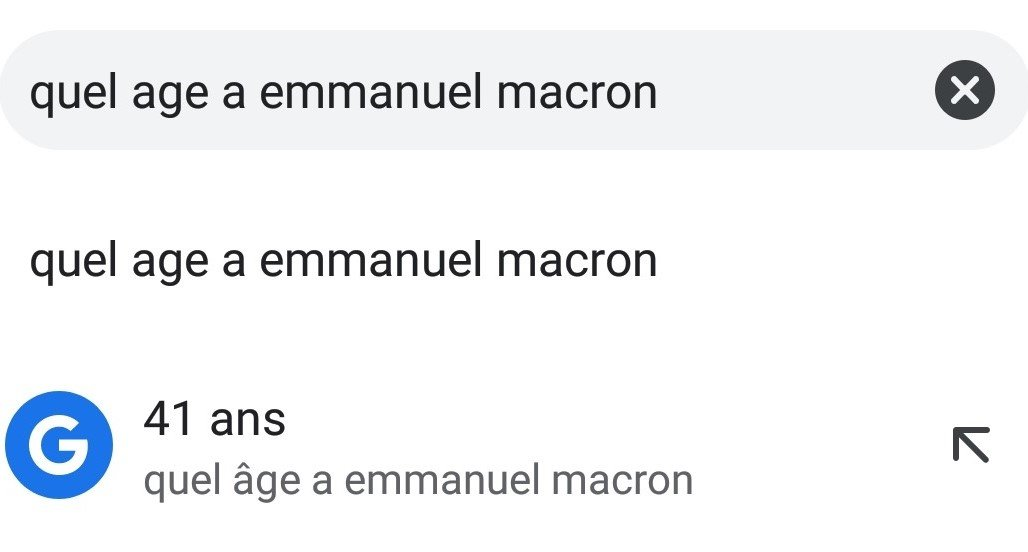 age macron question barre recherche chrome