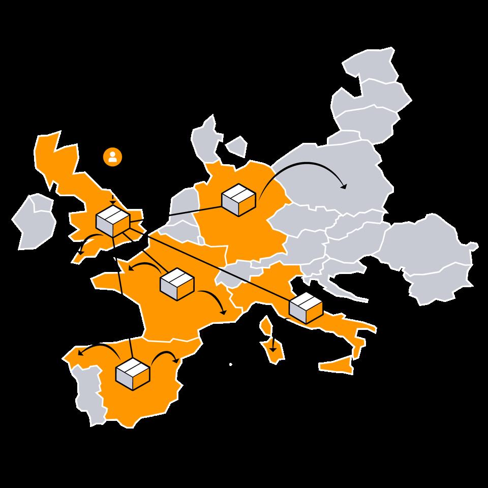 amazon pan europeen