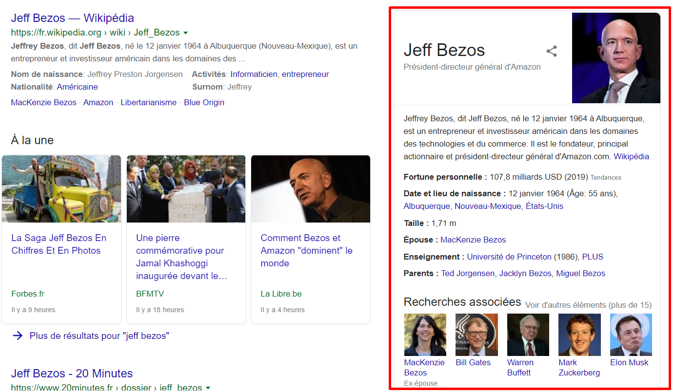 knowledge graph jeff bezos