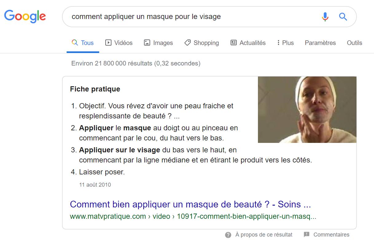 position 0 google