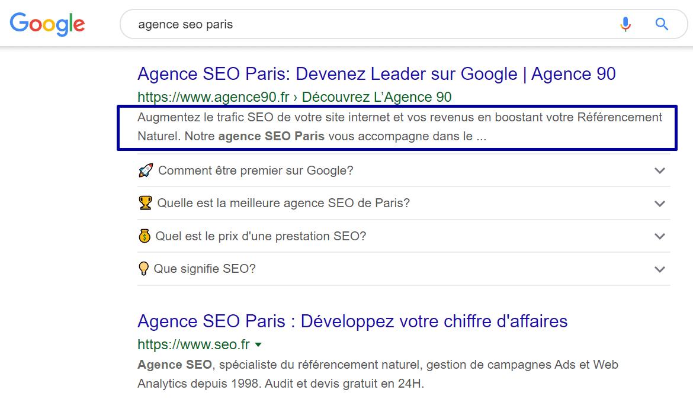 meta-description-agence-seo paris