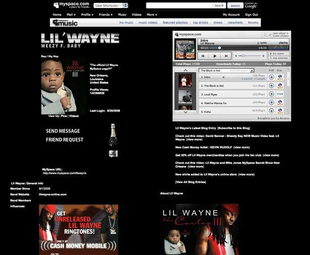 myspace exemple