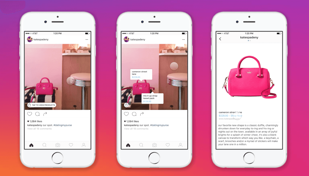 shoppable ads instagram exemple