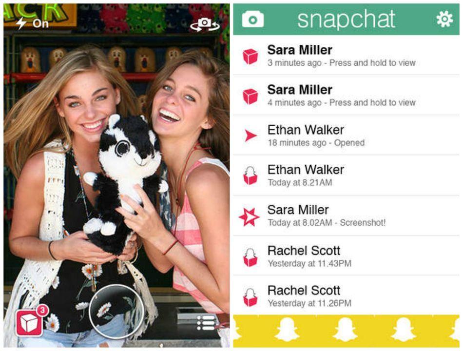stories snapchat 2013