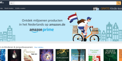 amazon.nl page d'accueil