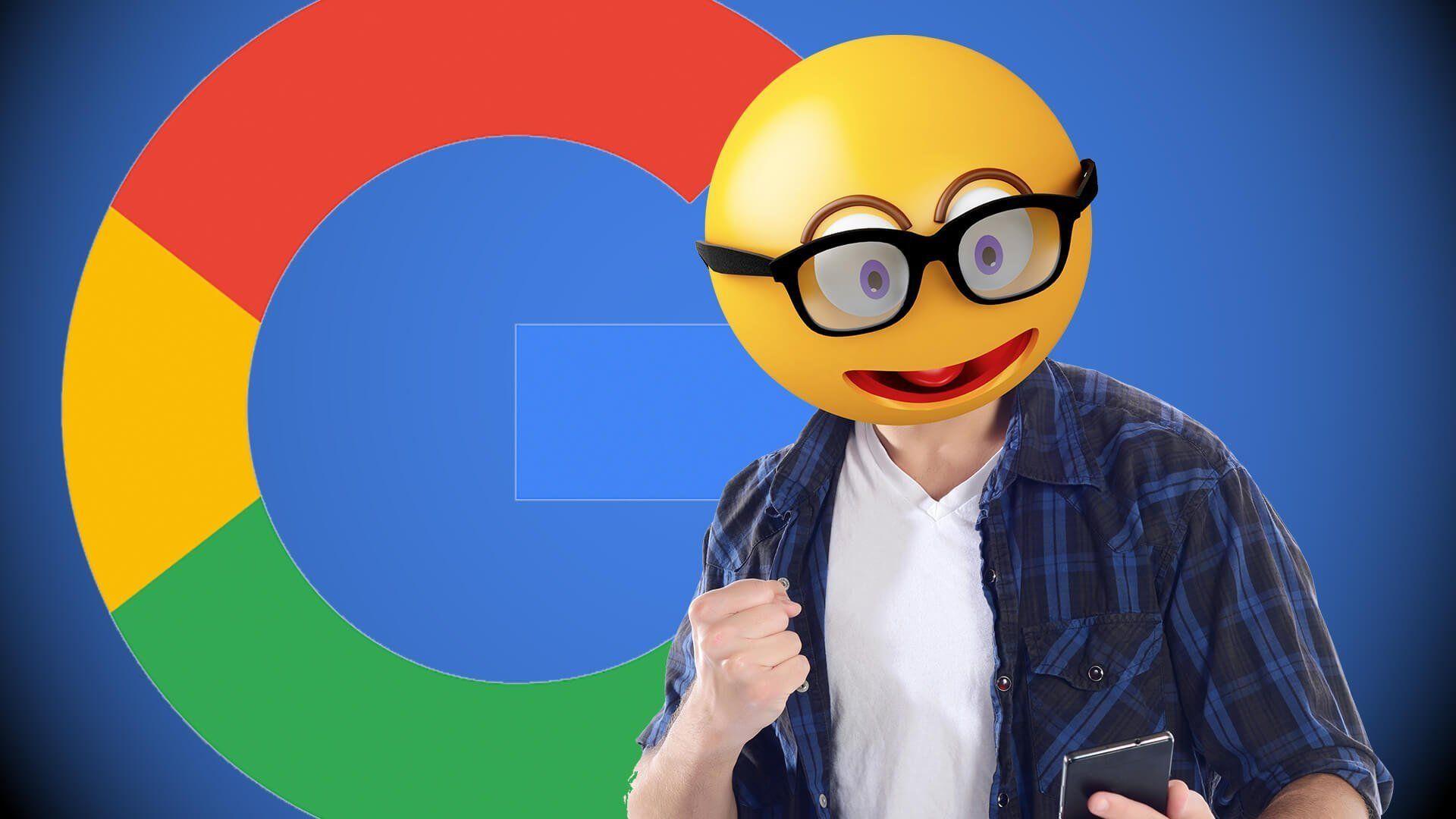 est ce que google comprend les emojis