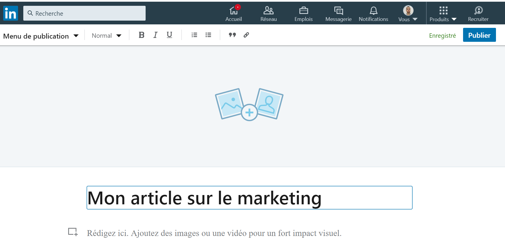 exemple article linkedin pulse