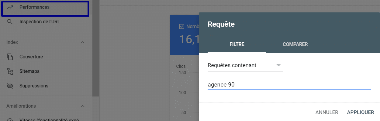 exemple search console agence 90
