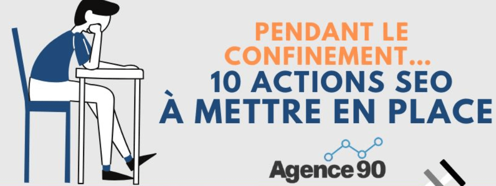 infographie actions seo confinement