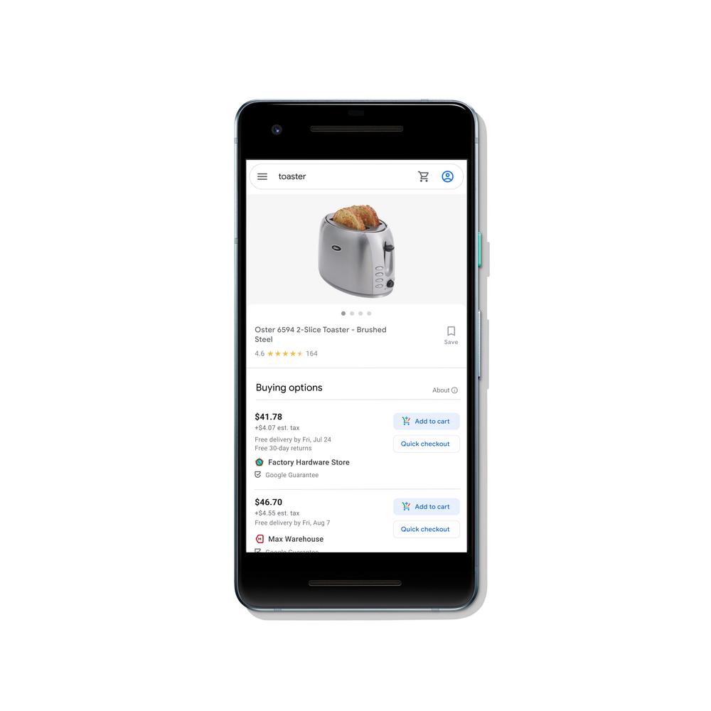 acheter google exemple gratuit