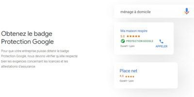 badge protection google