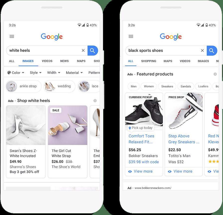prix google shopping 2