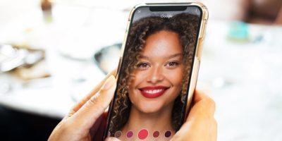 réalité augmentée cosmétiques google