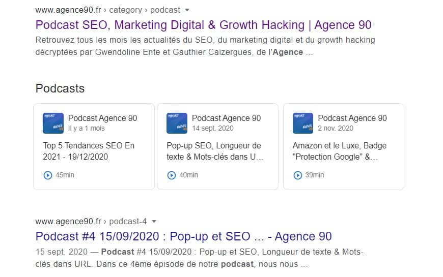 podcast serp agence 90